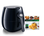 Philips Viva Airfryer HD 9220 With Healthy Recipe Cookbook Book Collection NEW
