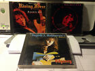 YNGWIE J. MALMSTEEN RISING FORCE 3 CD LOT: ALL JAPAN IMPORTS
