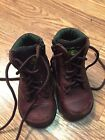 John Deere Hiking Boots Toddlers Infants Size 45M Lace Up Zipper Sides