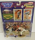 Roger Clemens Curt Schilling 2000 Starting Lineup Classic Doubles Inter-league