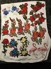 flower Embroidered Applique Iron On Patch design DIY Sew Iron On Patch Badge