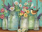 Lang Flower Jars Boxed Note Cards by Susan Winget 4x525 13 Cards