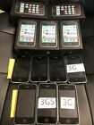 Apple iPhone 3G  3GS LOT OF 12 A1241  A1303