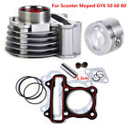 47mm Big Bore Cylinder Piston Rings Kit for GY6 50cc 80cc 4 Strokes Scooter ATV