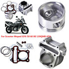 Big Bore Cylinder Block Piston Kits Fits for GY6 50cc 80cc 4 Strokes Scooter ATV