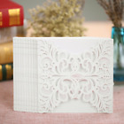 Anself 20Pcs Lace Wedding Invitation Card for Bridal Shower Birthday