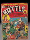 Captain Battle 1 WWII Cover Ray Miller Collection glue spine  tape paper repla