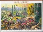 1999 SONORAN DESERT 1st Nature of America Series Mint Sheet 10 33 Stamps 3293