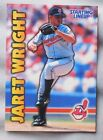1999 Starting Lineup Jaret Wright Cleveland Indians Baseball Card
