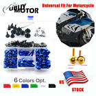For Yamaha YZF FZ Complete Fairing Bolt Kit Body Screws Nuts Motorcycle Alloy