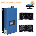 1000W On Grid Tie Inverter with Limiter for Solar Panels Battery Power 110 220V