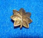 Vintage Original WWII Major Oak Leaf Pin Army