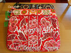 NEW Vera Bradley Long 17 Laptop Sleeve Bag Carrier Assorted Colors