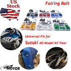 Complete Fairing Bolts Screws Kit for Suzuki GSXR 750 1000 600 1300 SV 650 1000