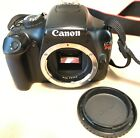 Canon EOS Rebel T3 1100D 122MP Digital SLR Camera Black Body Only NO RESERVE