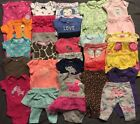 EUC Adorable Baby Girl CLOTHES LOT Outfit Sets Newborn Lot  1