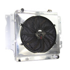 US 3 Row Aluminum Radiator  Shroud Fan for 87 04 Jeep Wrangler YJ Chevy V8 ENG