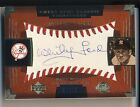 WHITEY FORD 2004 Sweet Spot Classic Signatures AUTO BLUE 20 RARE YANKEES HOF *
