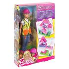 Barbie Builder Doll and Playset-Blonde-New!