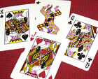 Flamingo Hilton Casino Las Vegas Playing Cards Game Used Tech Art Faces II