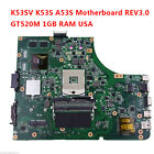 For Asus Laptop K53SV motherboard Rev 30 K53S A53S X53S P53S Mainboard USA