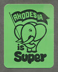 Rhodesia Is Super Stickers