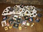 LOT OF OVER 90 OLYMPIC PINS ATLANTA 1996  LOS ANGELES 1984 OVER NINETY