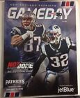 NEW ENGLAND PATRIOTS GAMEDAY PLAYOFF PROGRAM 1 13 18 Vs TITANS MINT NOT DONE
