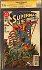 DC Superman Unchained #1 CGC 9.6 Signature Series Lee, Jurgens, Snyder, More!