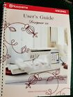 Husqvarna Viking Designer SE User's Guide for Sewing Embroidery Machine with CD