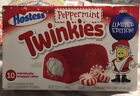 Hostess Limited Edition Peppermint cake filled Twinkies 10 Count Box NIP