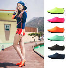 Men Women Aqua Skin Shoes Beach Water Socks Yoga Exercise Pool Swim Slip On Surf