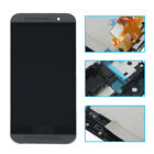 Black For HTC One M9 USA LCD Digitizer Display Touch Screen W/Frame Assembly + T