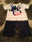 Little Monkey Twofer BlueZoo baby boy outfit with movable ears 9 12 mo UK NWT