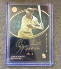 2016 TOPPS THE MINT OZZIE SMITH AUTO ON CARD 10 INSCRIPTION CARDINALS GOLD AUTO