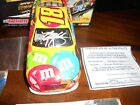 Kyle Busch 2009 MMs Autographed Action 124 diecast Toyota Camry With COA