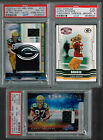 2008 ABSOLUTE PACKERS JORDY NELSON STARGAZING PRIME PATCH AUTO RC 17 25 PSA 8