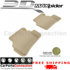 All Weather Floor Mats Mercrdes C-CLASS W204 08-14 SDN CLASSIC TAN R2 Maxpider