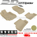All Weather Floor Mats Mercrdes C-CLASS W204 08-14 SDN KAGU TAN R1 R2 Maxpider