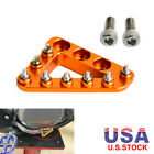 Brake Pedal Tips Pad Plate Foot Peg for KTM 85 125 150 250 350 400 450 EXC SX XC