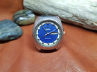 VINTAGE OMEGA SEAMASTER BLUE DIAL CAL 752 DAYDATE AUTO MAN'S LARGE WATCH