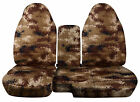 1983-2003 Ford Ranger 6040 Camouflage Camo Seat Covers Choose Color