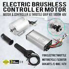 Top 48V 1800W Electric Brushless Controller motor throttle grip for ATV Cool