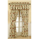 Waverly Felicite 84-in Creme Cotton Rod Pocket Single Curtain Panel