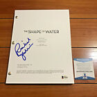 RICHARD JENKINS SIGNED THE SHAPE OF WATER FULL MOVIE SCRIPT w BECKETT BAS COA