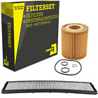 Filterset Ölfilter & Innenraumfilter BMW 3er Vabrio Coupe Touring Compact X3