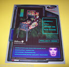 Bally REVENGE FROM MARS Original NOS Flipper Game PINBALL 2000 Sales Flyer #1