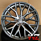20 in R8 1349 Style Wheels Gunmetal Machined Fits Audi A7 S7 A8 S8 Rims 5x112