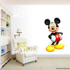 Mickey Mouse Room Decor Wall Decal Removable Sticker