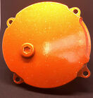 Clutch Cover KTM 50cc Motorcycle by Intuitive Racing Metal Flake KTM Orange